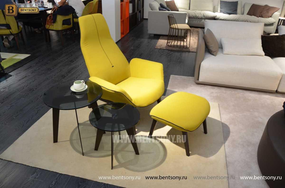 Кресло Ленчо (Деревянные ножки, Пуф) распродажа