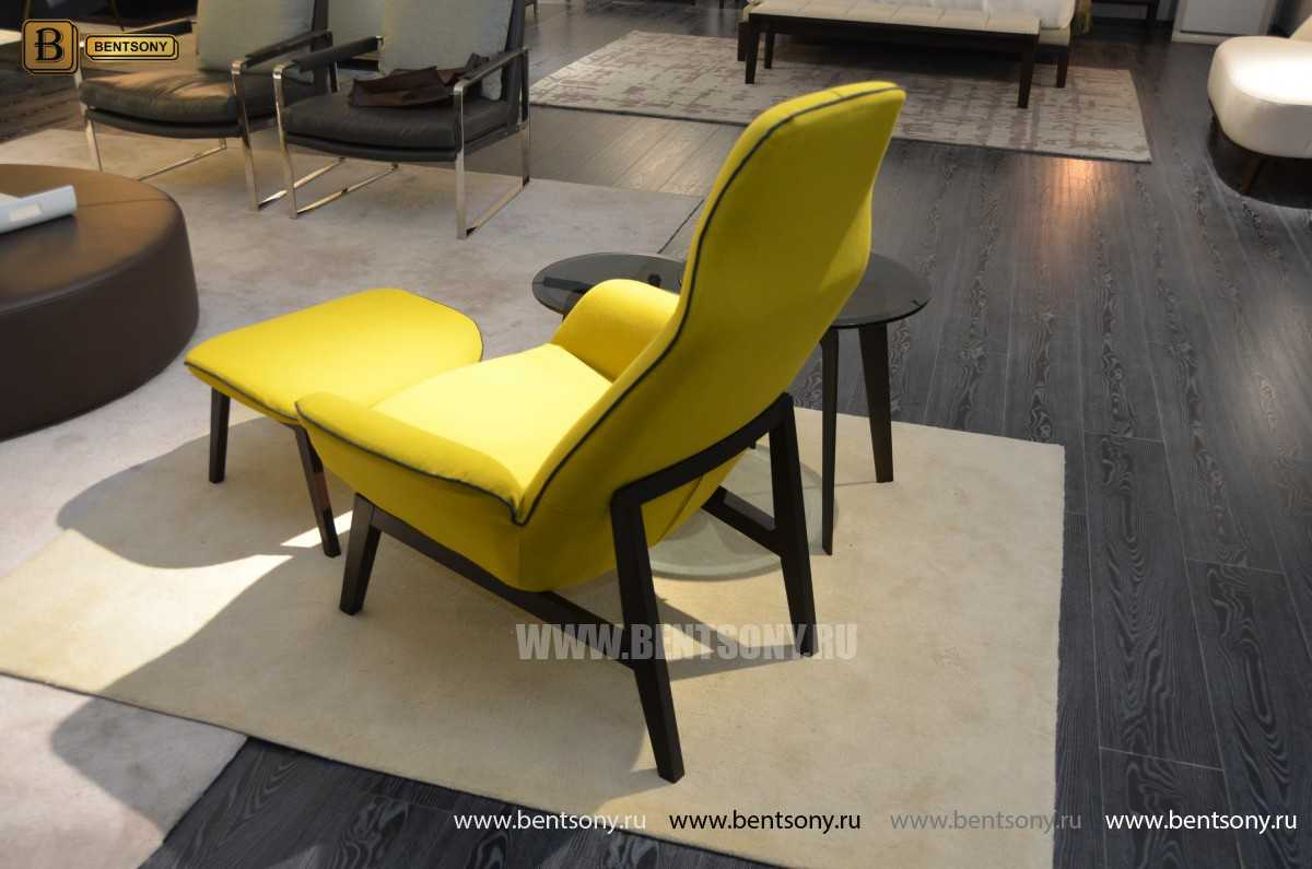 Кресло Ленчо (Деревянные ножки, Пуф) каталог мебели