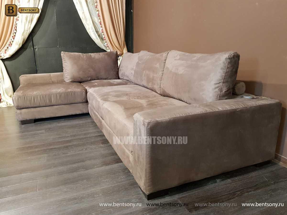 Итальянский  Диван Луиджи (Угловой с Шезлонгом) каталог мебели