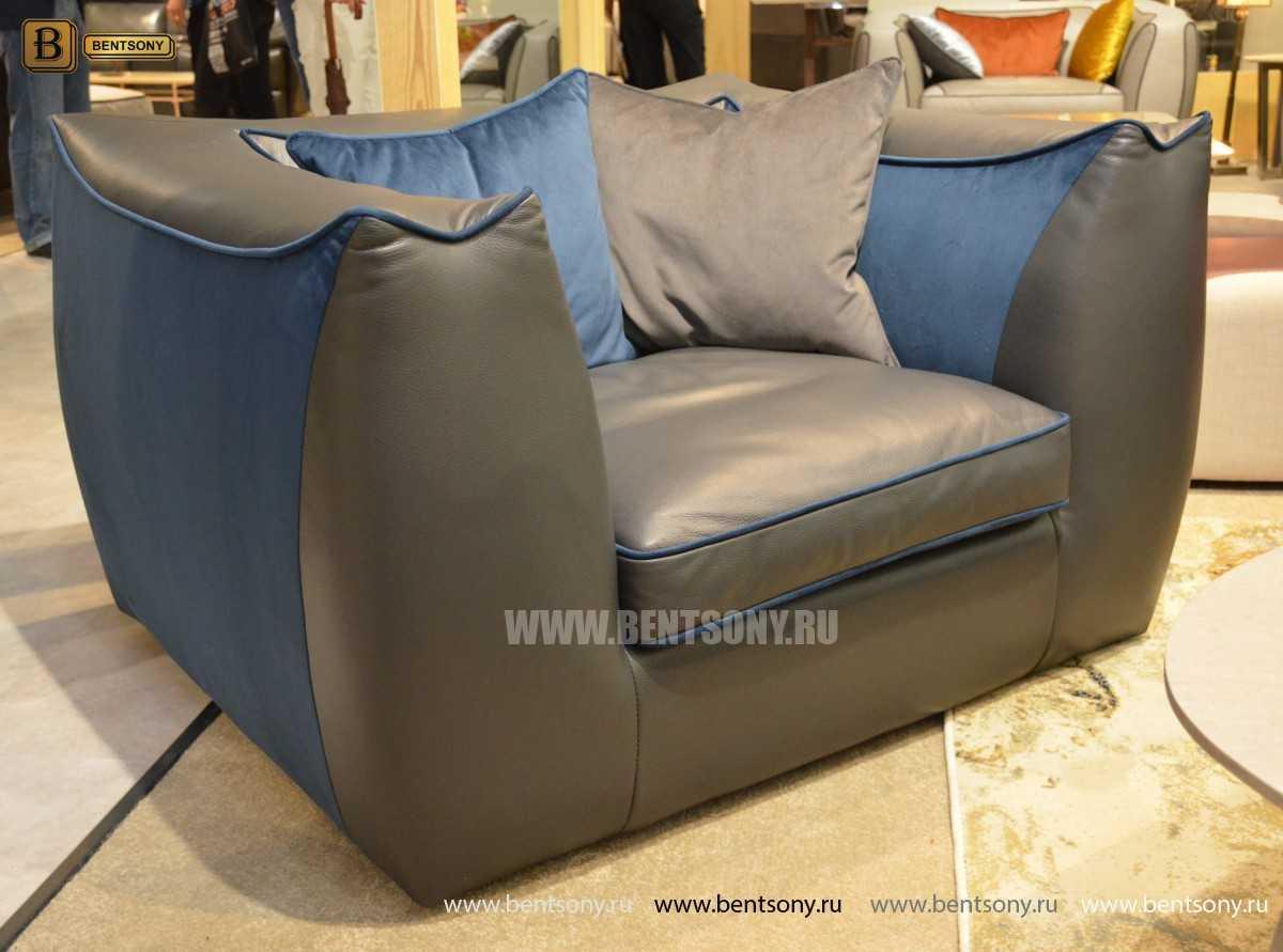 Кресло Карузо (Натуральная кожа) фото