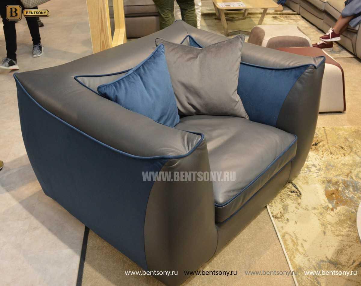 Кресло Карузо (Натуральная кожа) для дома