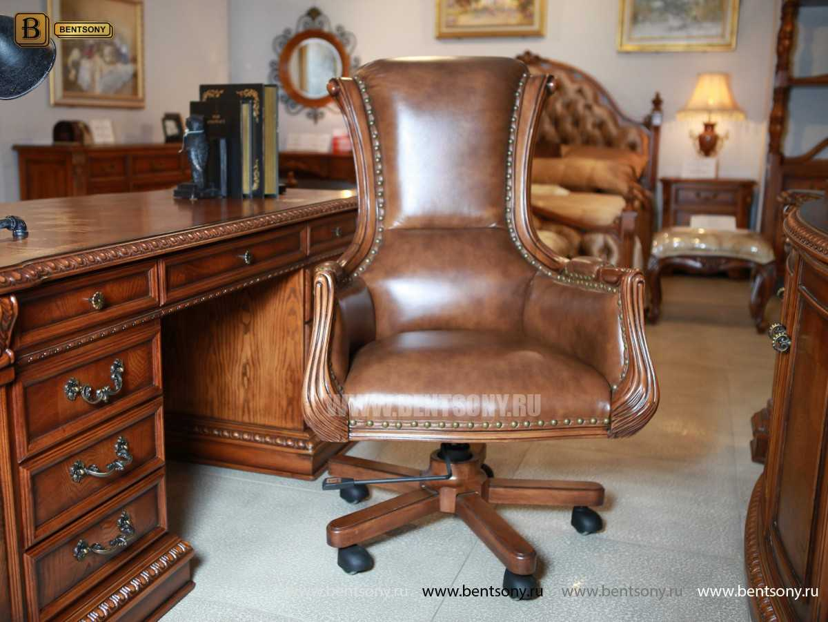 Кресло Кабинетное Монтана (Натуральная кожа)  каталог
