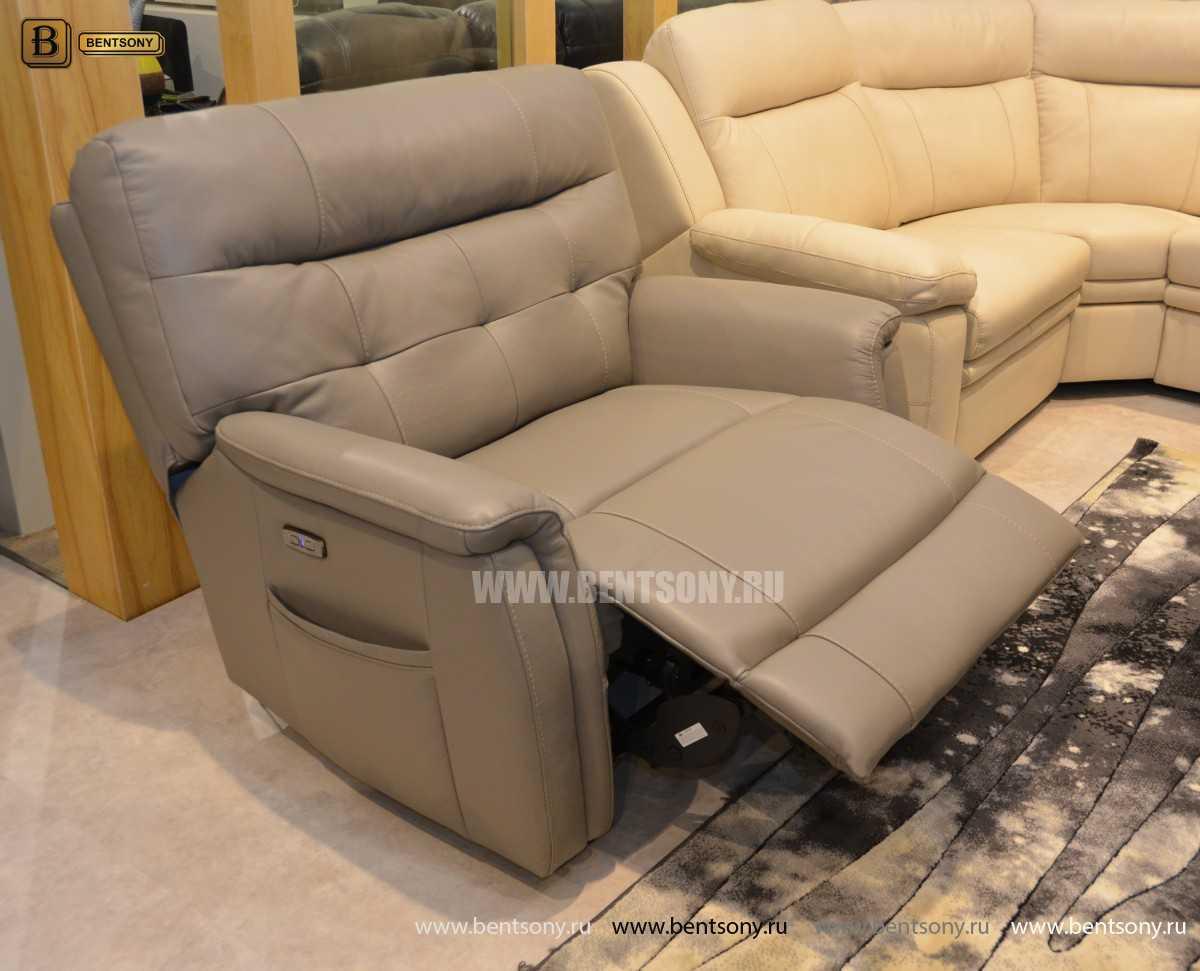 Кресло Рауль (Реклайнер, подъемный подголовник ) купить