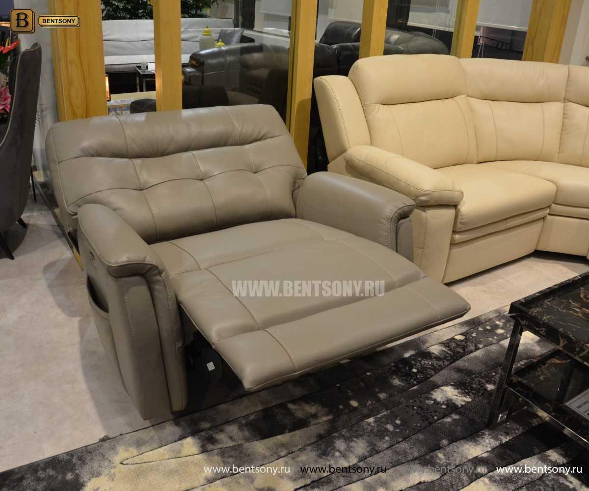Кресло Рауль (Реклайнер, подъемный подголовник ) каталог мебели с ценами