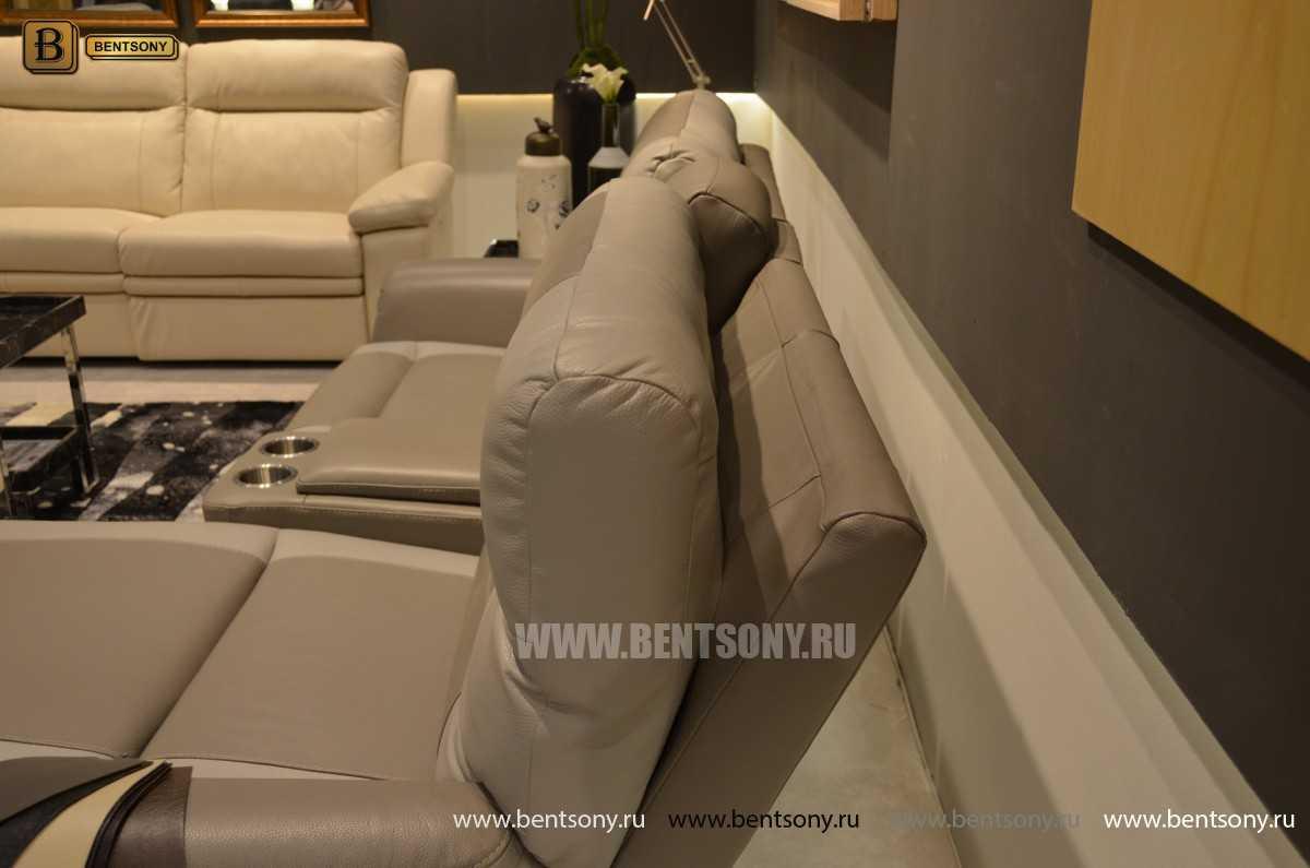 Кресло Рауль (Реклайнер, подъемный подголовник ) для квартиры