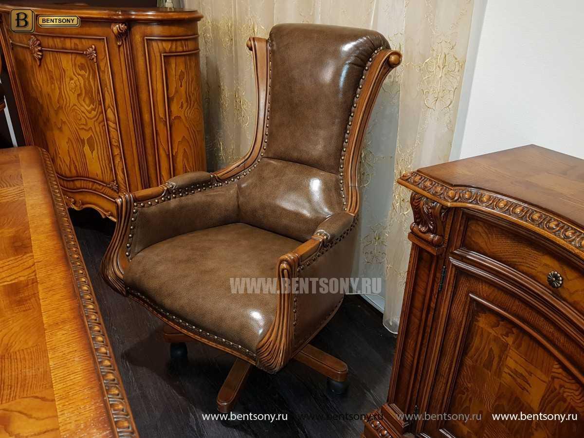 Кресло Кабинетное Монтана (Натуральная кожа)  для квартиры