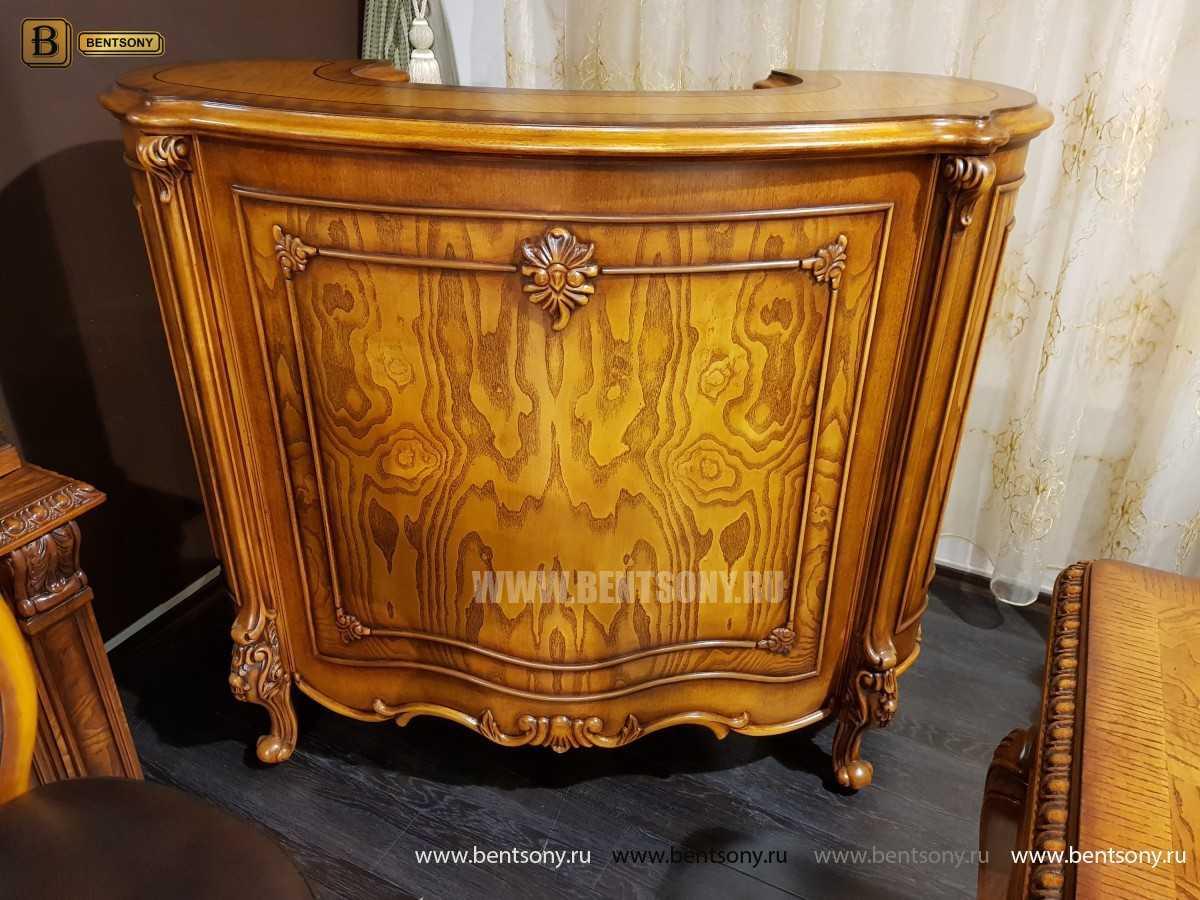 Барная стойка Дакота (Деревянная столешница) каталог мебели с ценами
