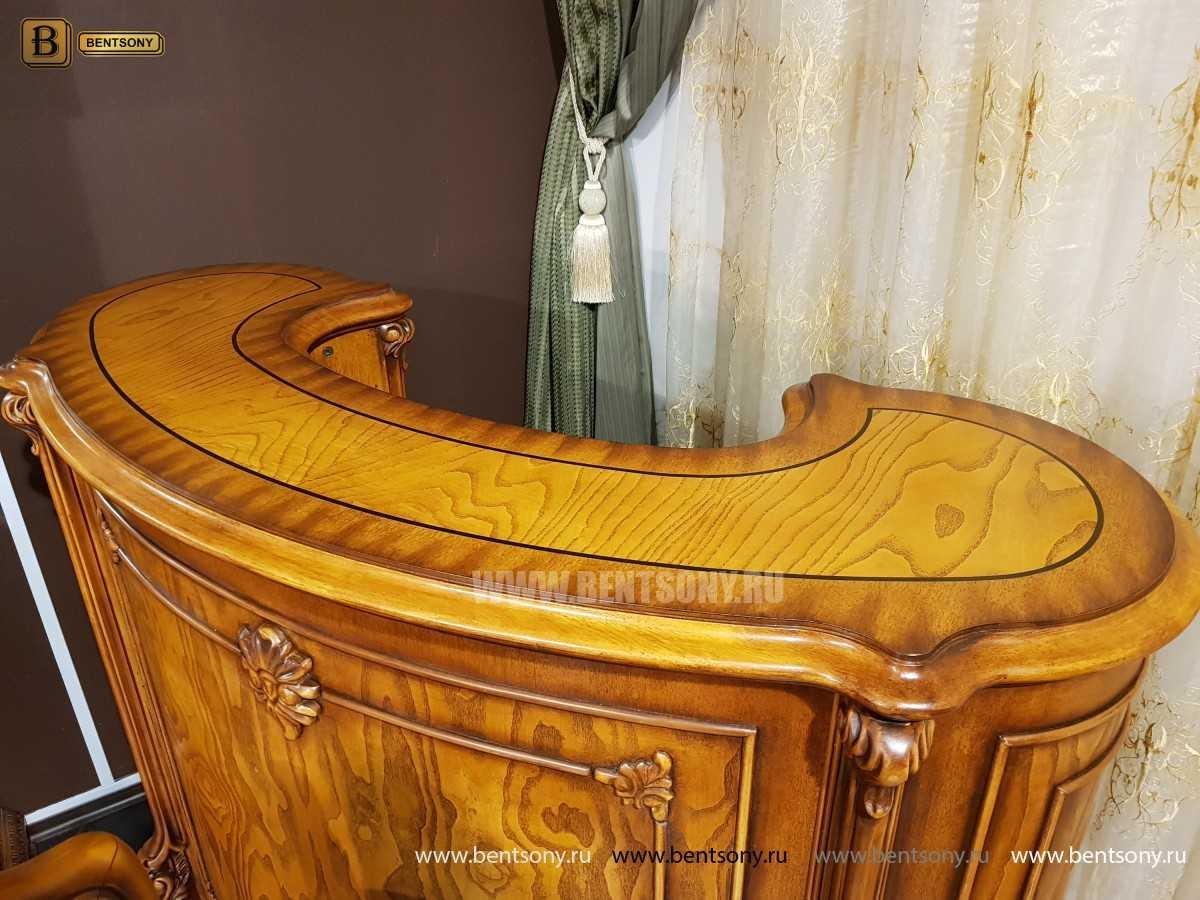 Барная стойка Дакота (Деревянная столешница) для квартиры