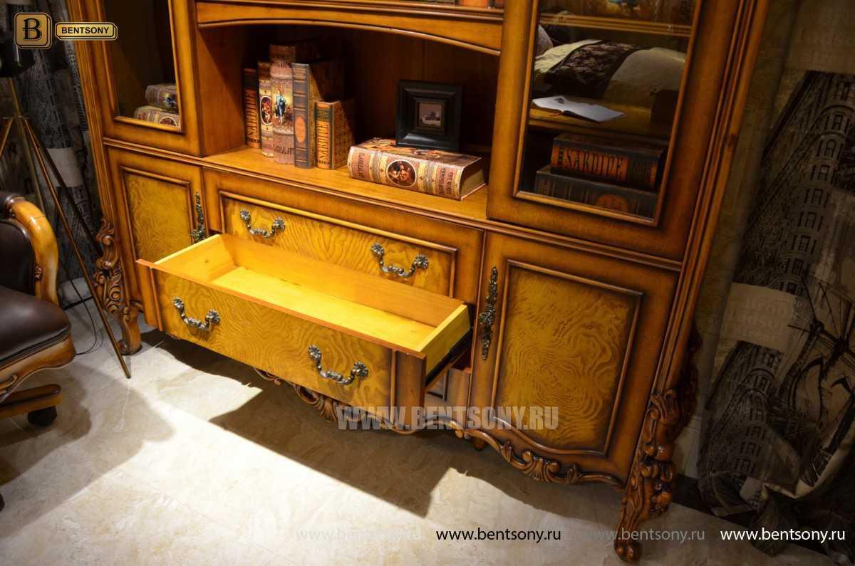Кабинет Дакота А классический (Массив дерева) каталог мебели с ценами