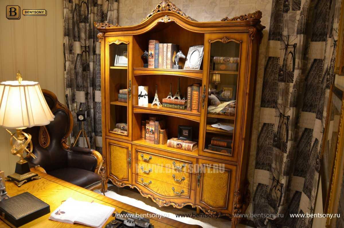 Шкаф Книжный Дакота (Классика, массив дерева) в Москве