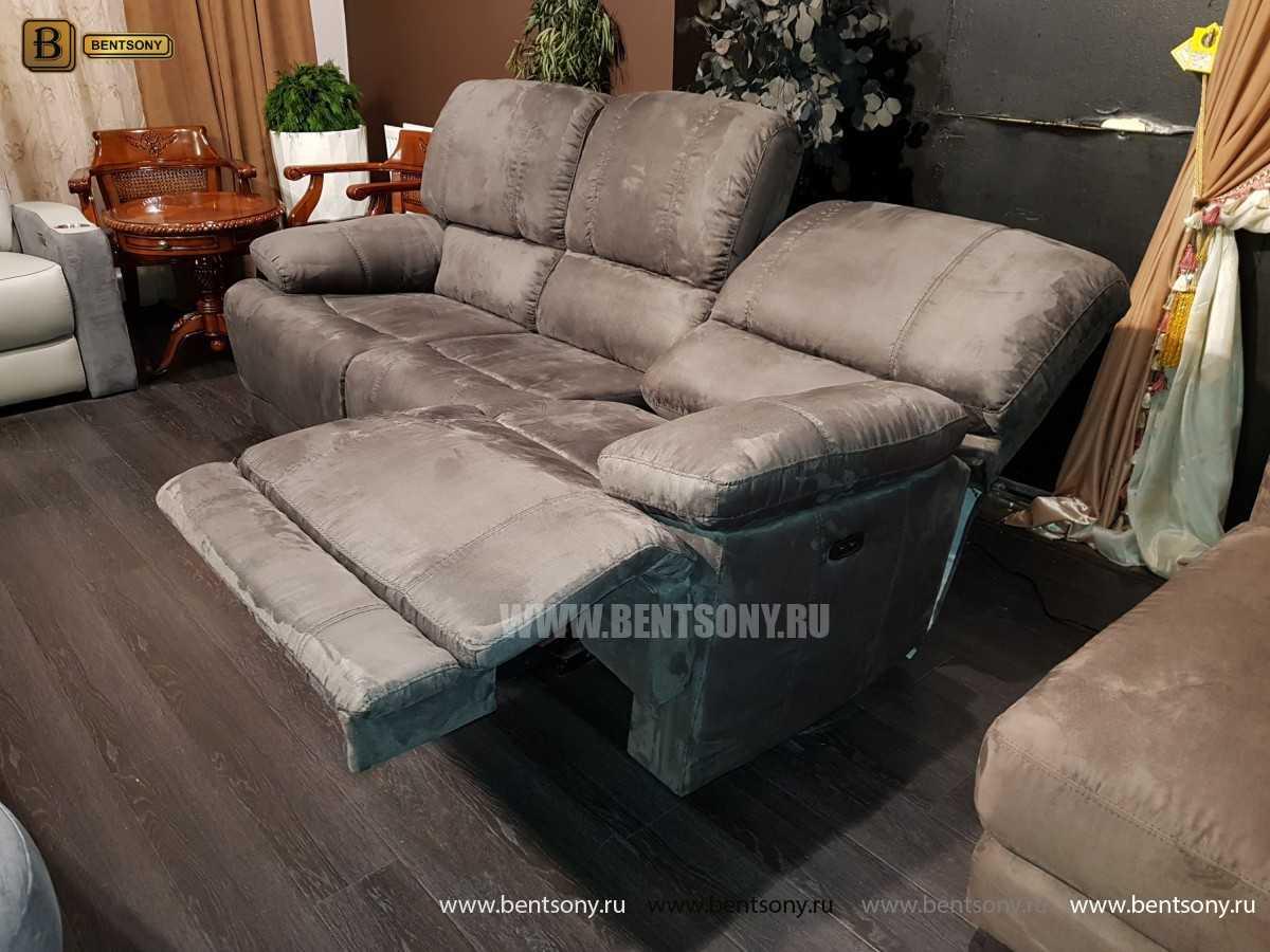 Кресло Марко (Реклайнер, Алькантара) фото