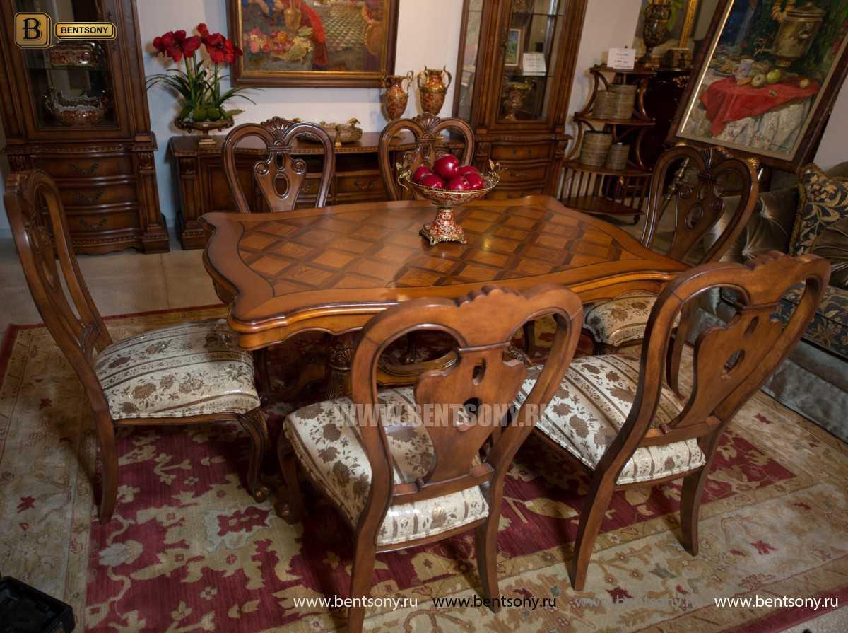 Стол обеденный Феникс А прямоугольный (Массив дерева) распродажа