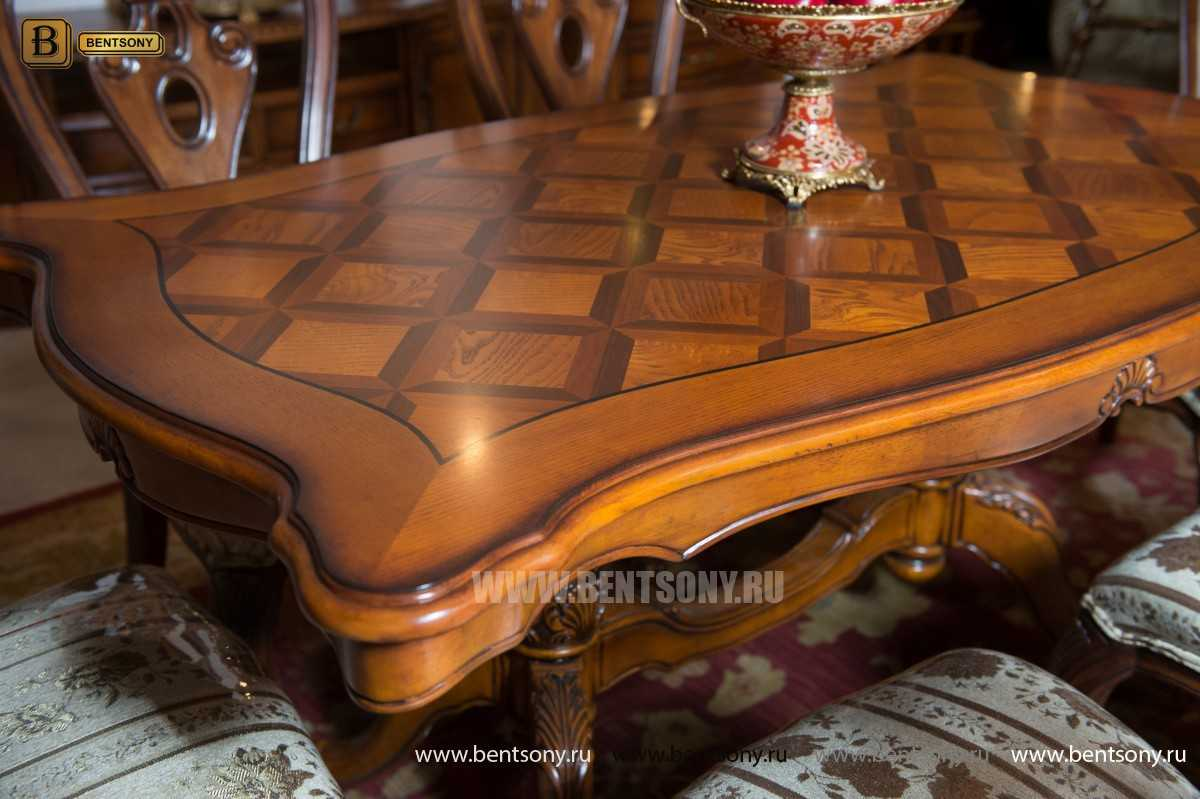 Стол обеденный Феникс А прямоугольный (Массив дерева) купить