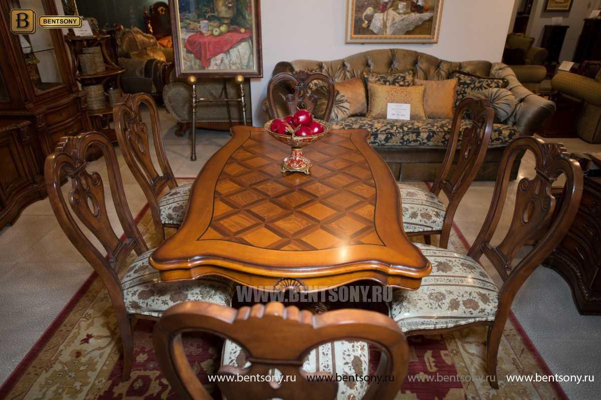 Стол обеденный Феникс А прямоугольный (Массив дерева) каталог с ценами