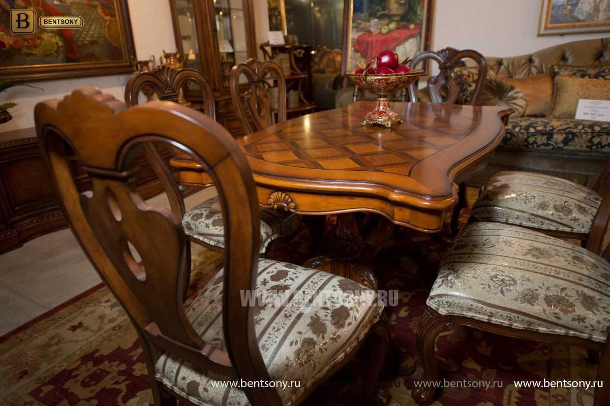 Стол обеденный Феникс А прямоугольный (Массив дерева) каталог мебели