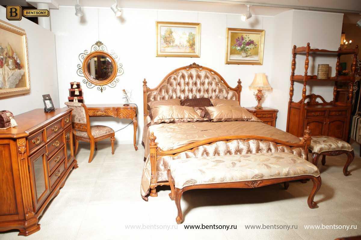 Кровать Феникс D (Классика, Ткань) в интерьере