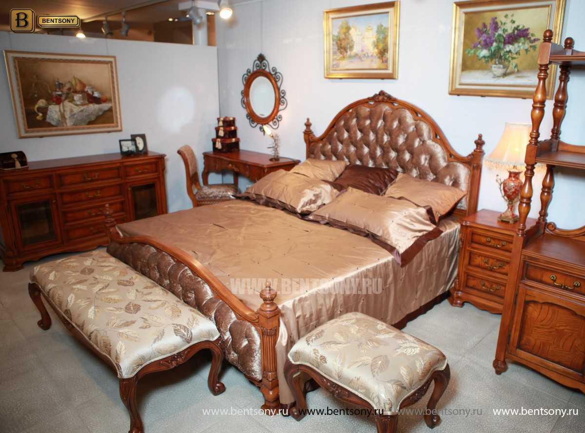 Кровать Феникс D (Классика, Ткань) для загородного дома