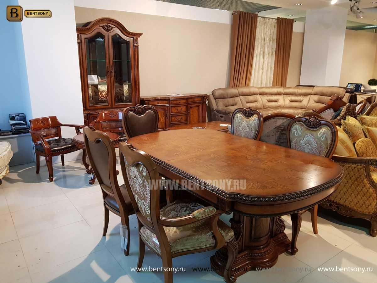 Обеденный стол Монтана (Раскладной, массив дерева) сайт цены