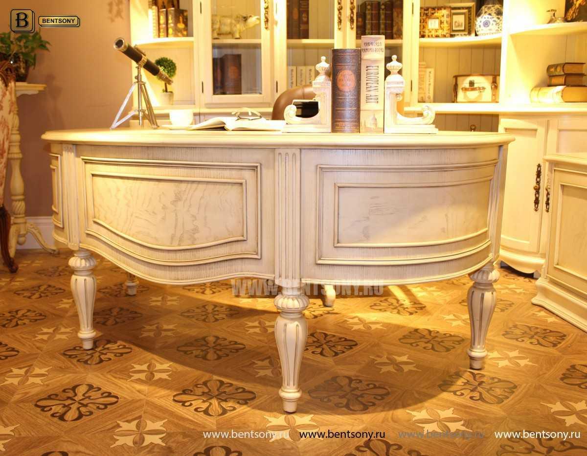 Письменный стол Феникс А (Массив дерева, классика) купить в Москве
