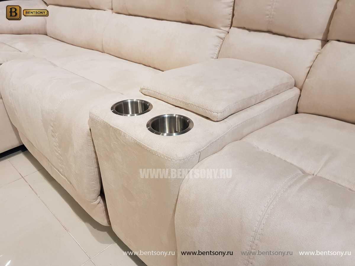 Диван Капонело (Шезлонг, Алькантара, Домашний кинотеатр) каталог мебели с ценами