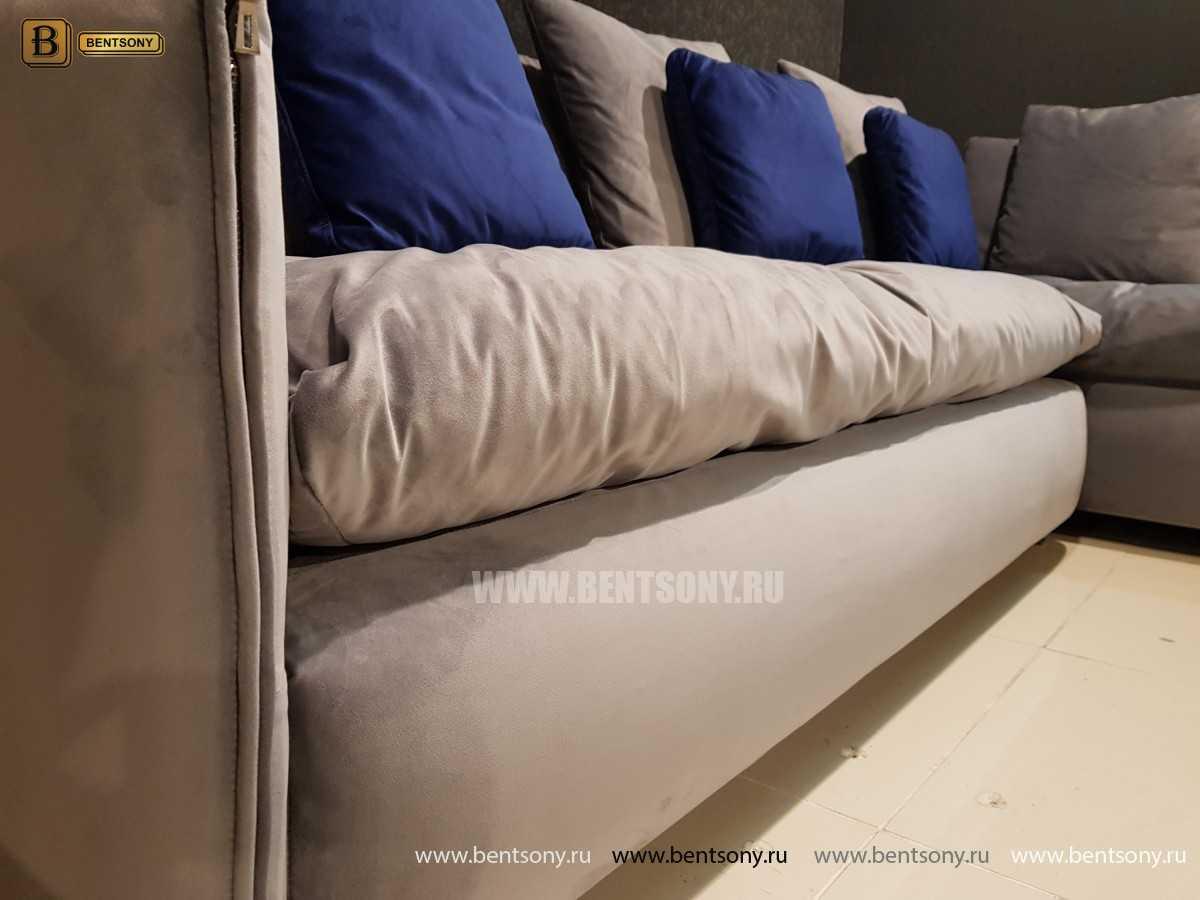 Итальянский Диван Арлетто (Угловой с шезлонгом) каталог мебели с ценами