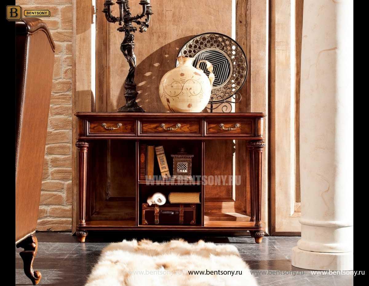 Консоль Феникс (Деревянная столешница) для загородного дома