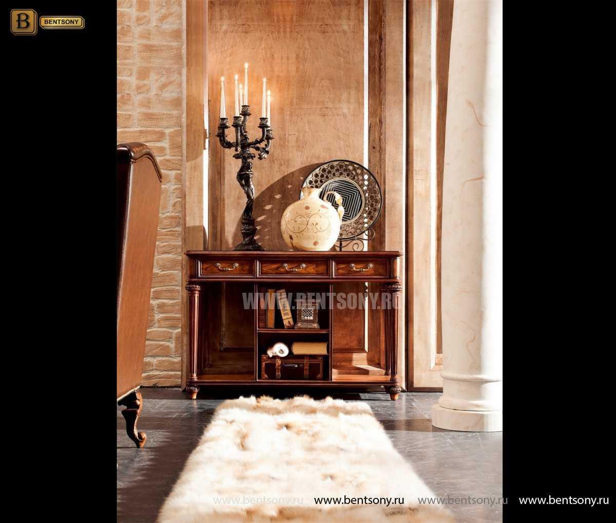Консоль Феникс (Деревянная столешница) каталог с ценами