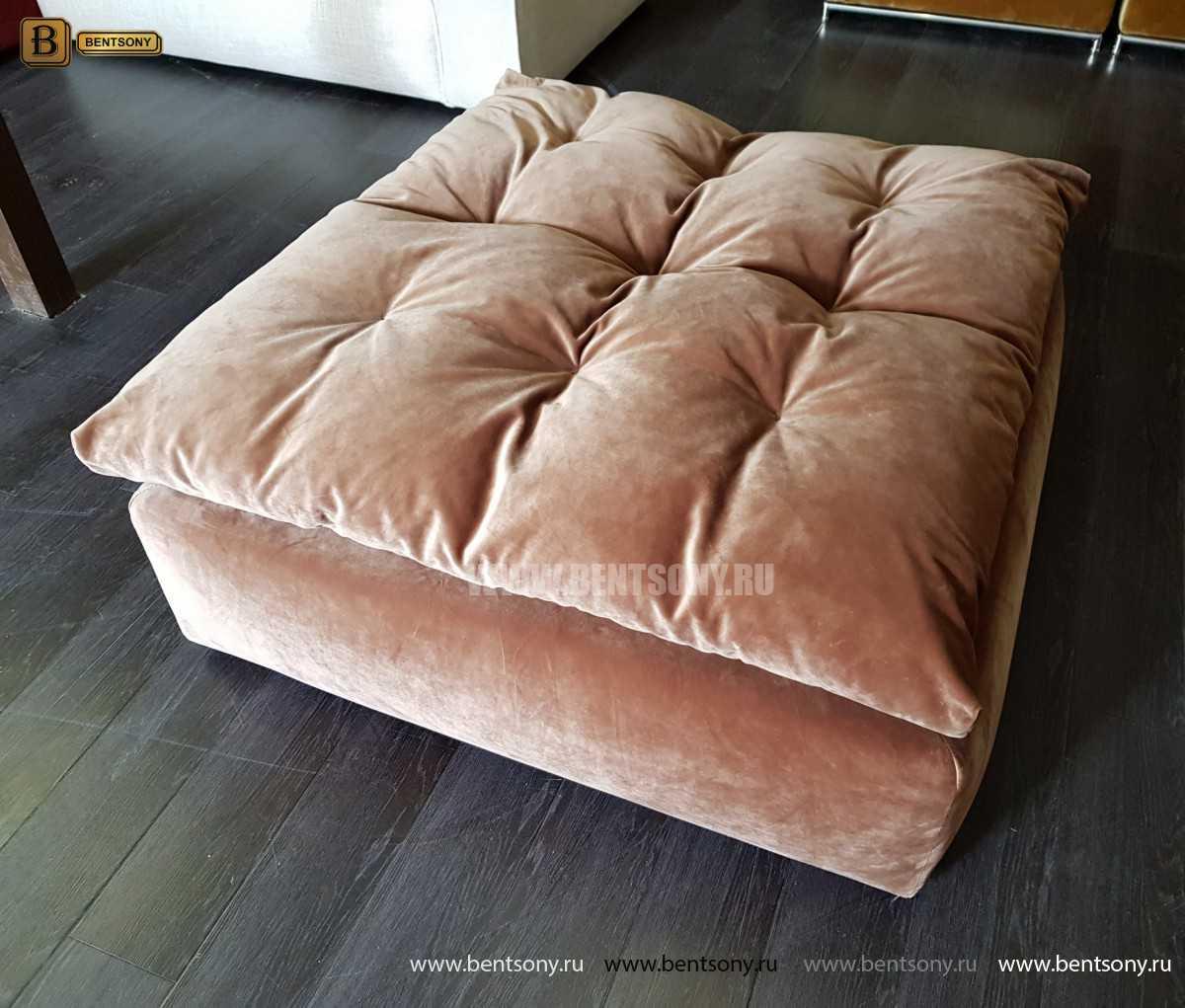Пуф Дивана Бениамино (Велюр) каталог мебели