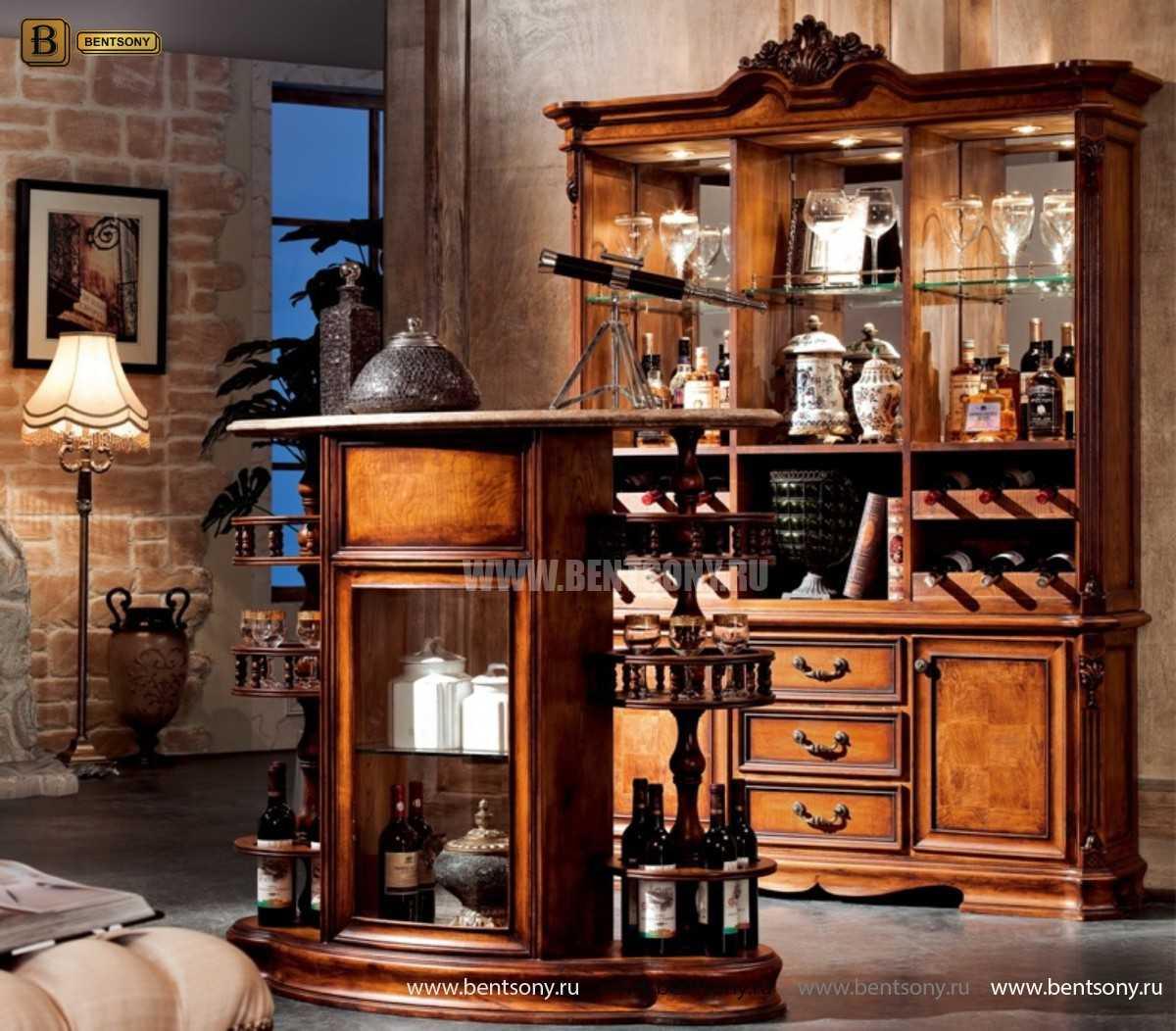 Буфет Феникс (Классика, Барный шкаф)  каталог мебели с ценами
