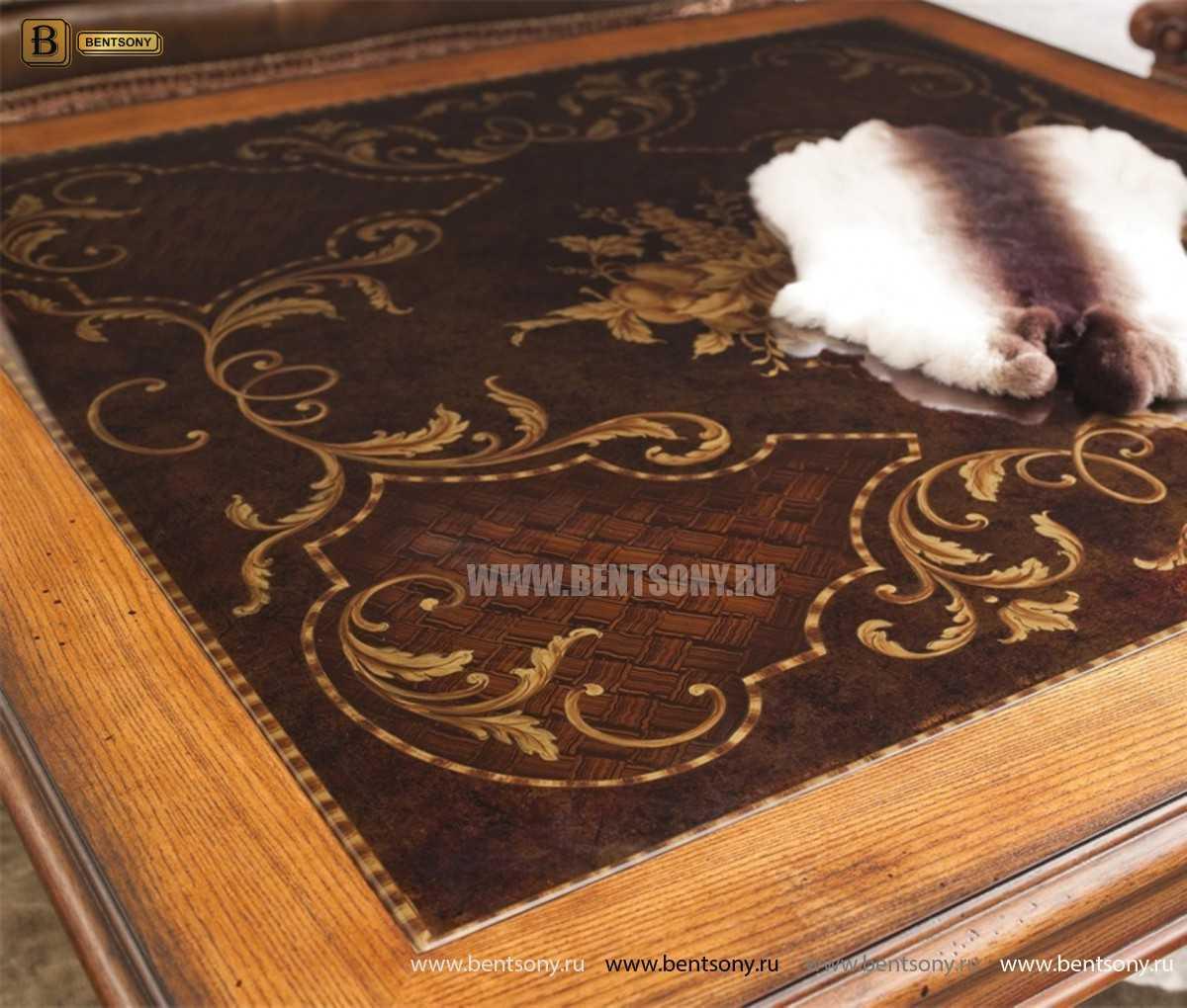 Стол журнальный Феникс A квадратный (Цветное стекло) для квартиры