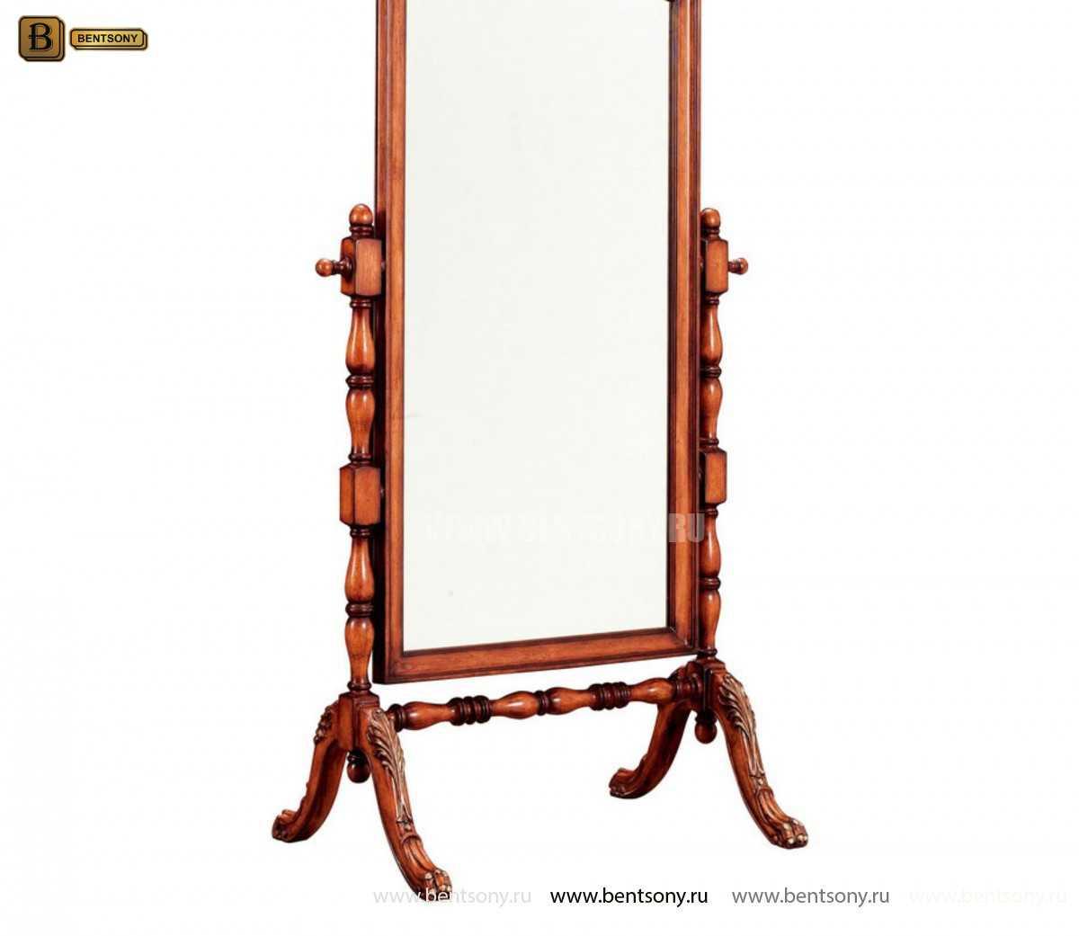 Зеркало в полный рост Феникс (Массив дерева) изображение