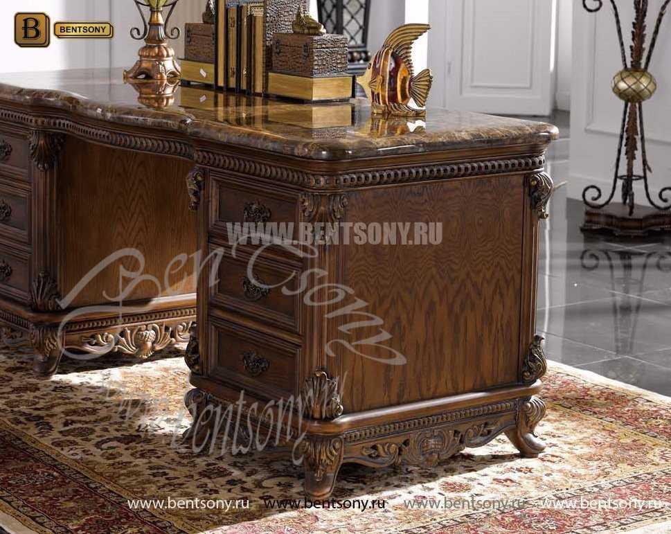 Письменный стол Рамирес классический (Массив дерева) распродажа