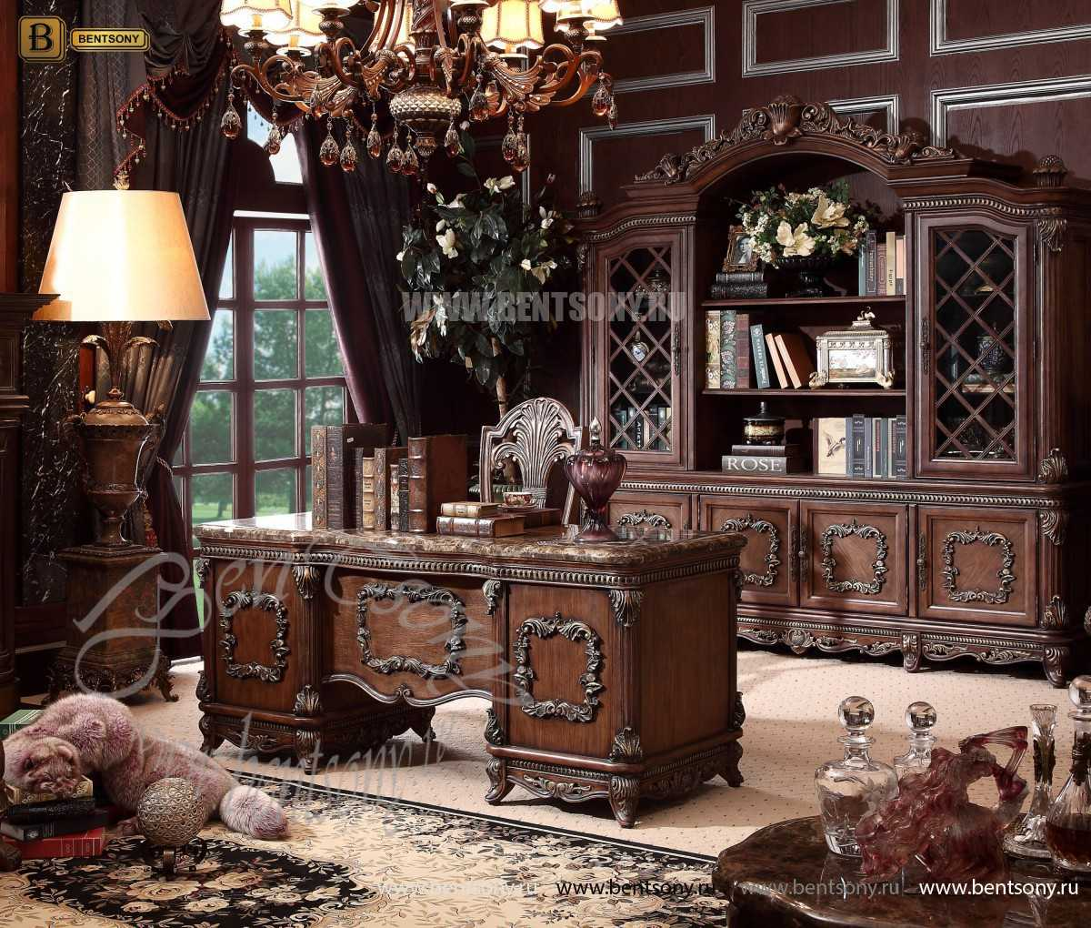 Письменный стол Рамирес классический (Массив дерева) изображение