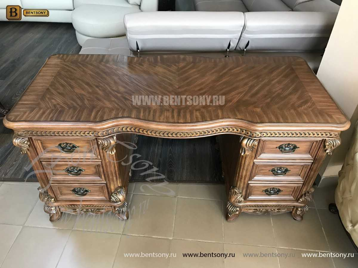 Письменный стол Рамирес классический (Массив дерева) для квартиры