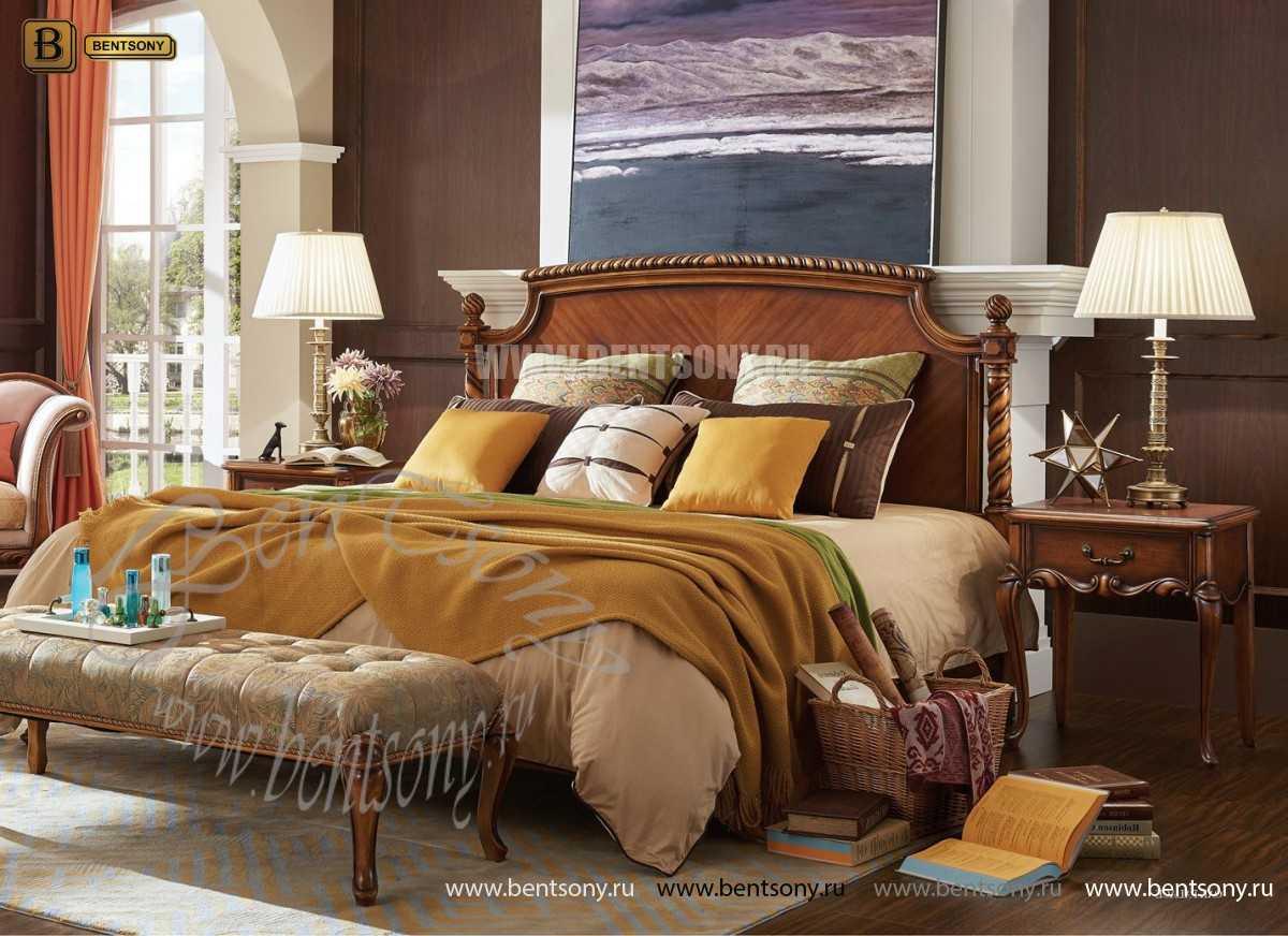 Кровать Лоренс B (Классика, Массив дерева) интернет магазин