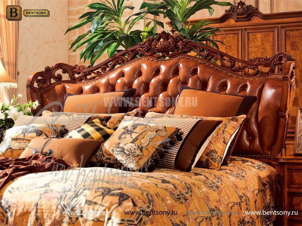 Спальня Феникс F (Классика, Натуральная Кожа) для загородного дома