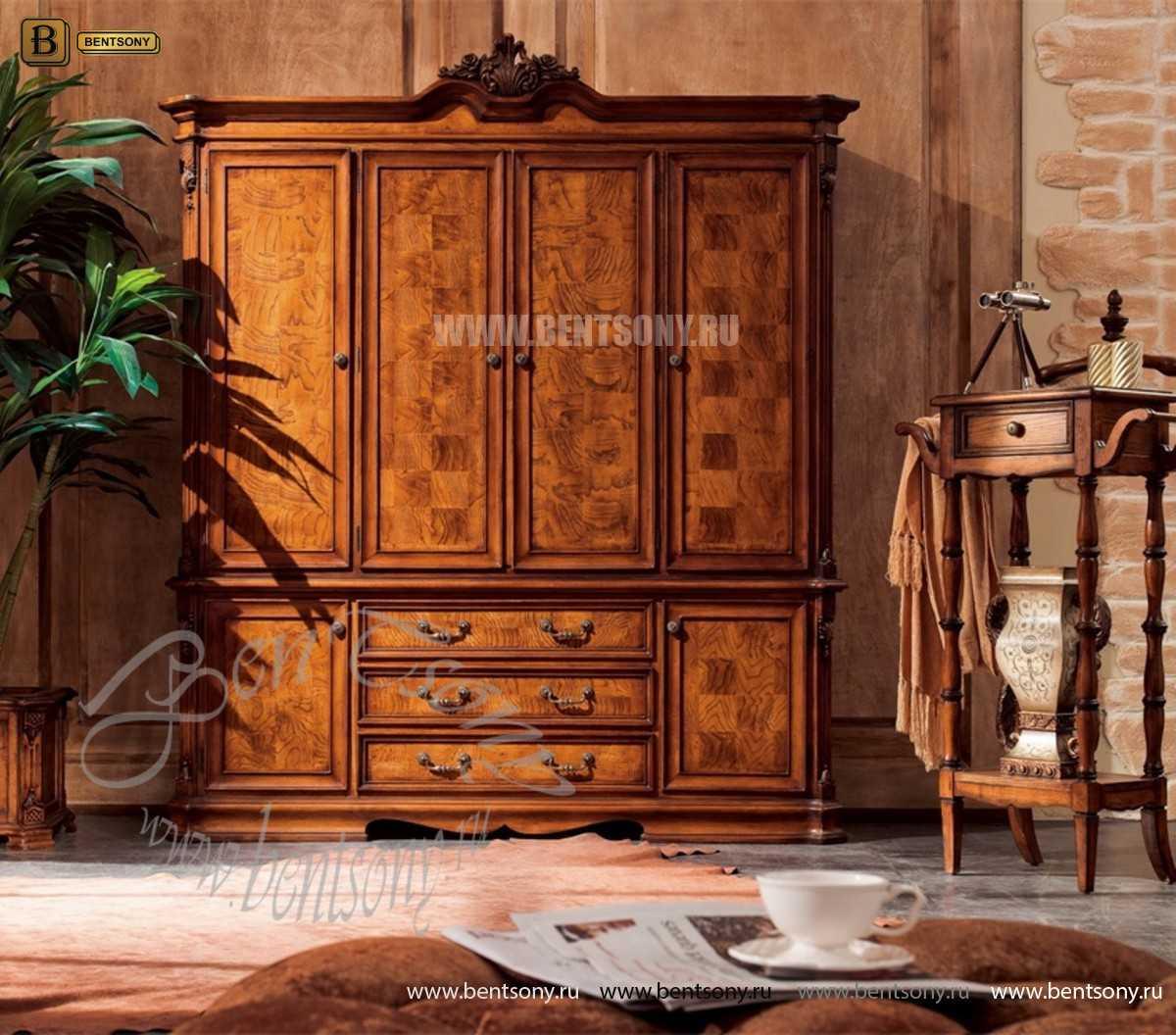 Спальня Феникс F (Классика, Натуральная Кожа) каталог мебели