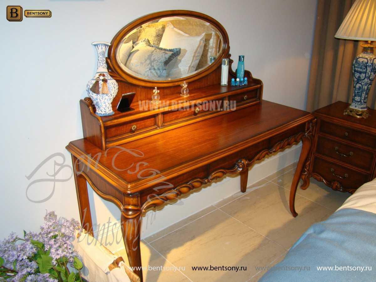 Спальня Лоренс B (Классика, Массив дерева) для загородного дома