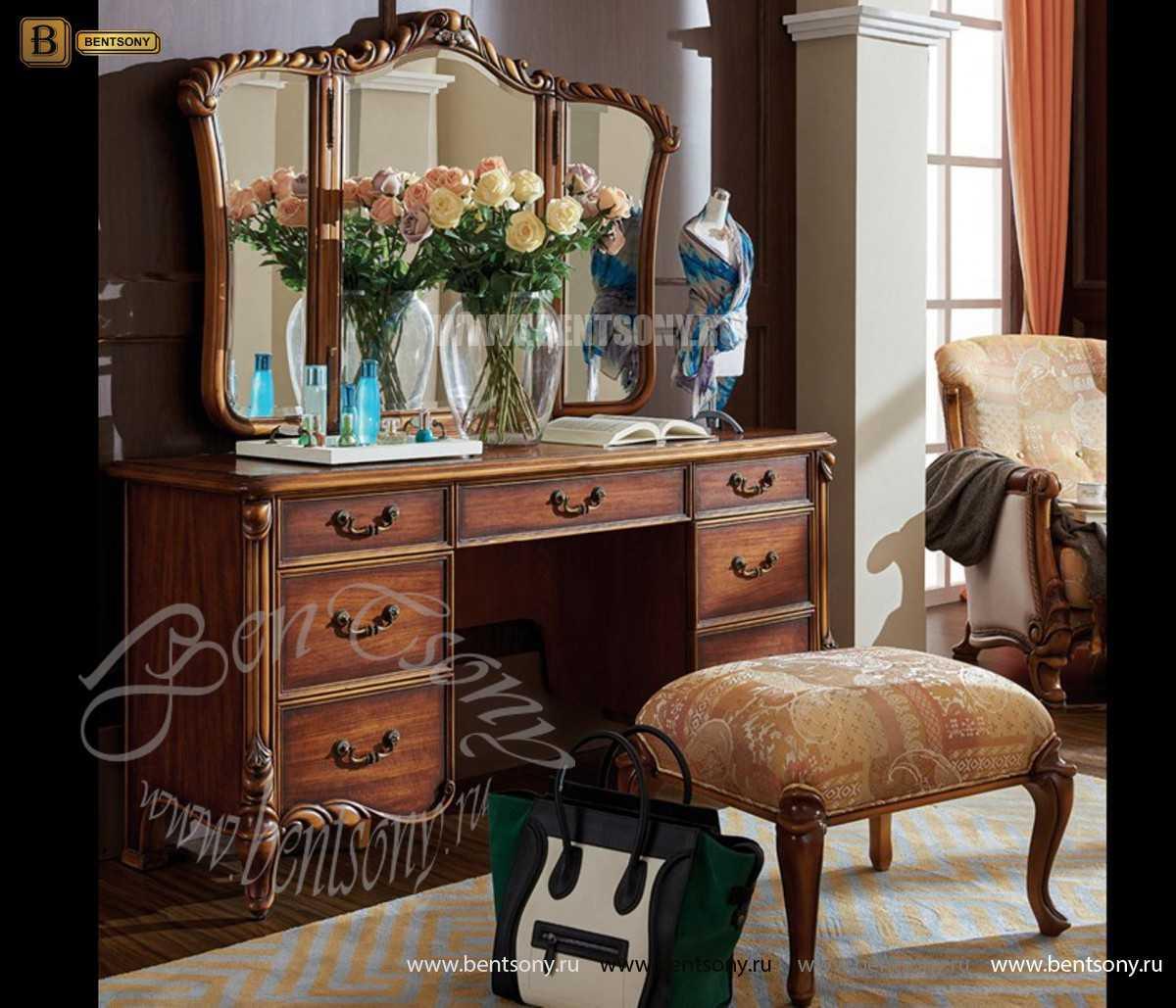 Спальня Лоренс А (Классика, Ткань) для квартиры