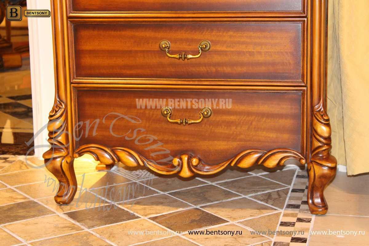 Спальня Лоренс А (Классика, Ткань) каталог мебели с ценами