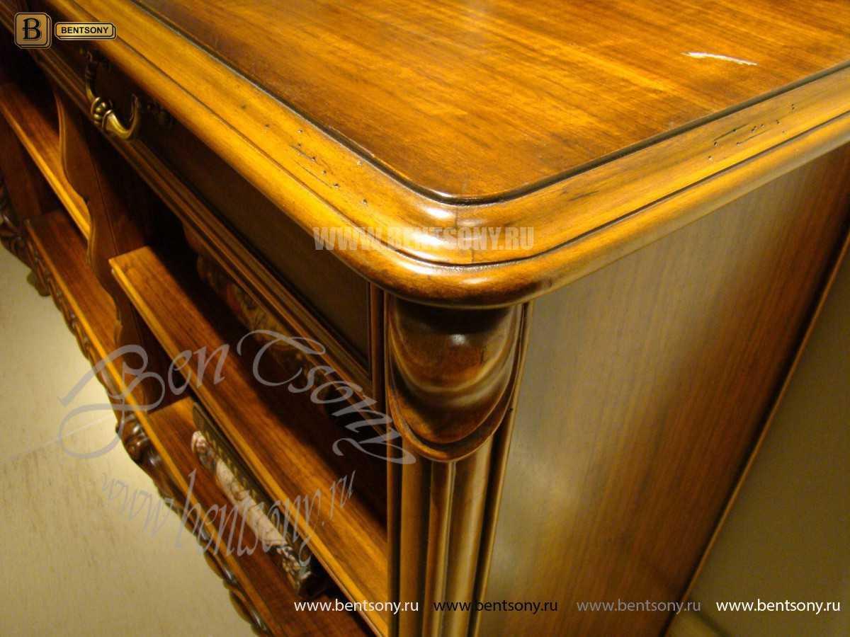 Тумба придиванная Лоренс, Консоль (Классика, массив дерева) каталог мебели с ценами