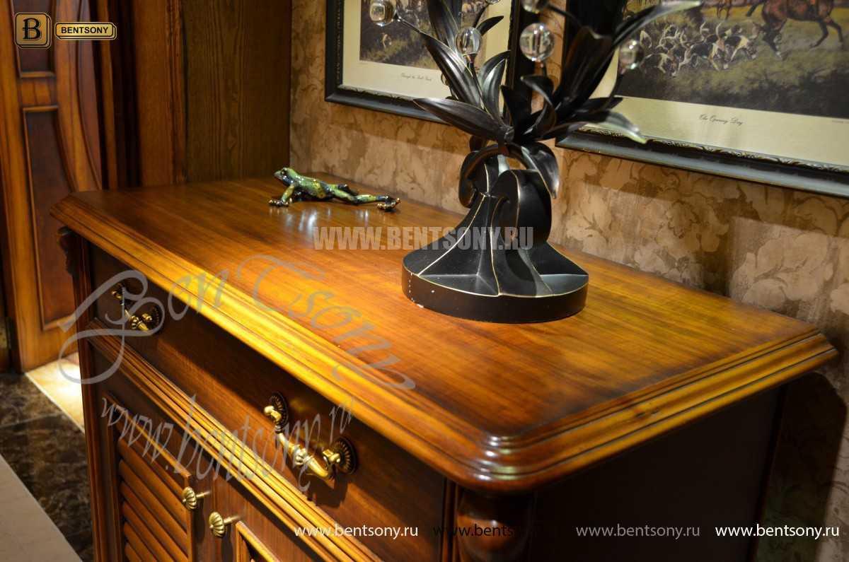 Тумба для обуви Лоренс (Классика, массив дерева) каталог мебели с ценами