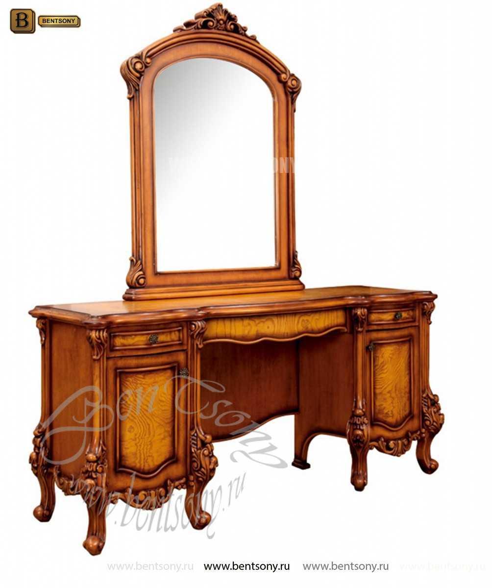 Стол туалетный Дакота B с зеркалом (Массив дерева, классика) изображение