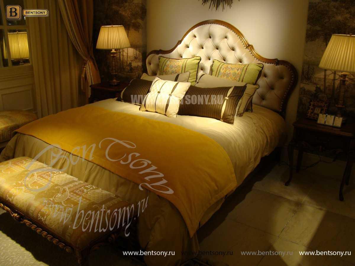Спальня Лоренс С (Классика, Ткань) в интерьере