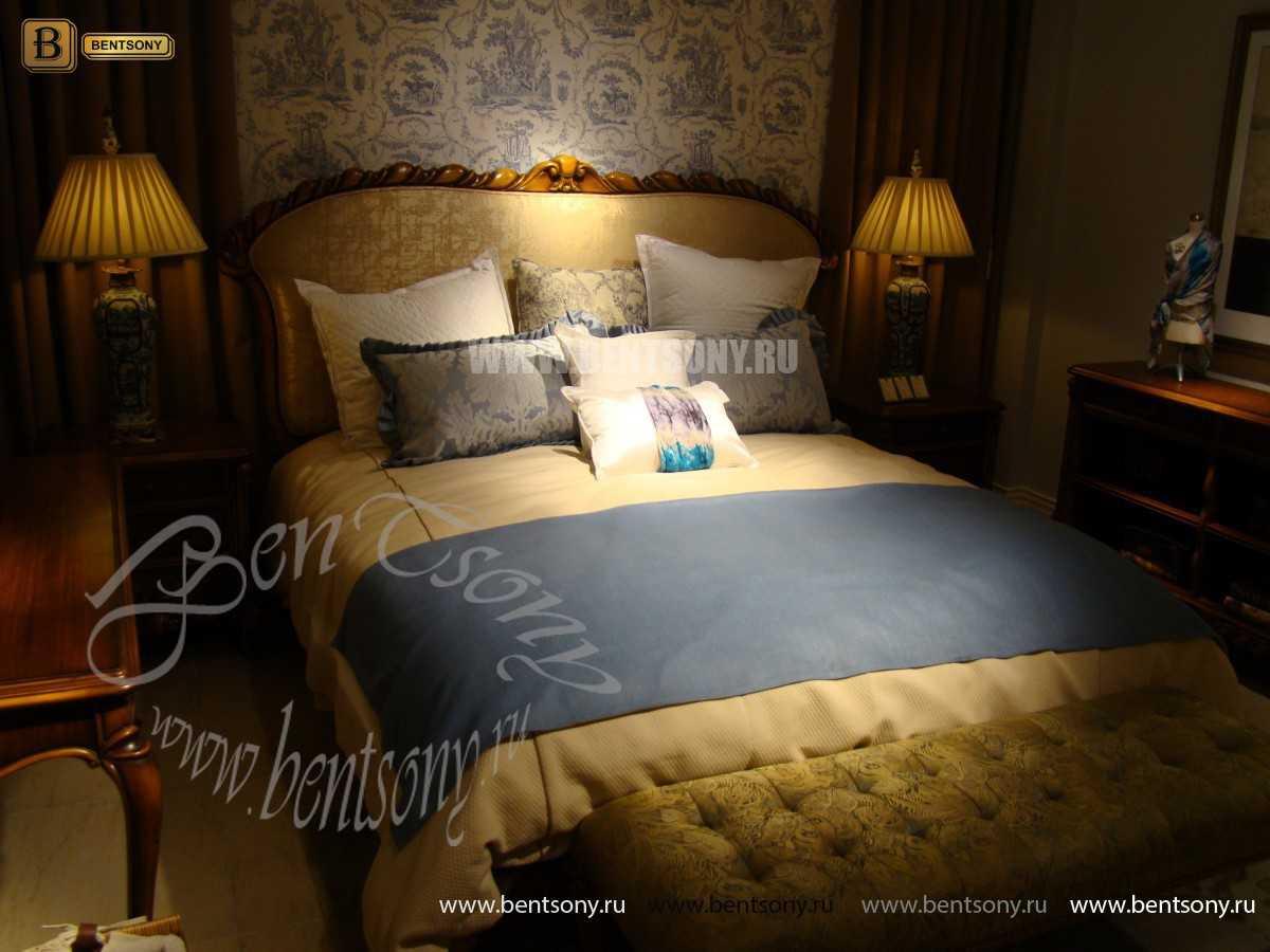 Кровать Лоренс А (Классика, Ткань) сайт цены