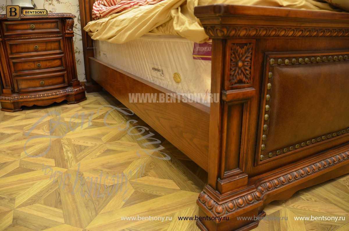 Спальня Монтана B (Натуральная кожа, массив дерева) официальный сайт цены