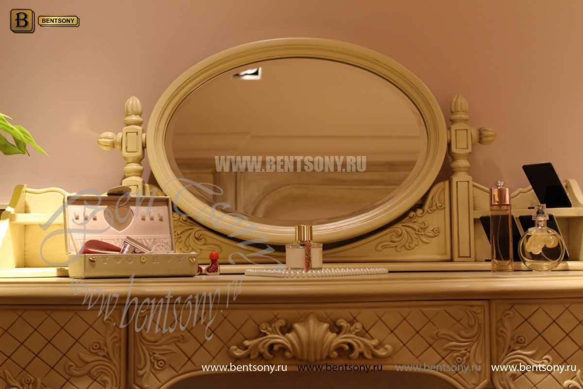 Стол туалетный Феникс В с зеркалом (Массив дерева)