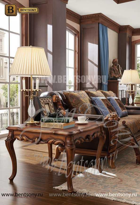 Стол журнальный Лоренс А маленький (Массив дерева) для квартиры