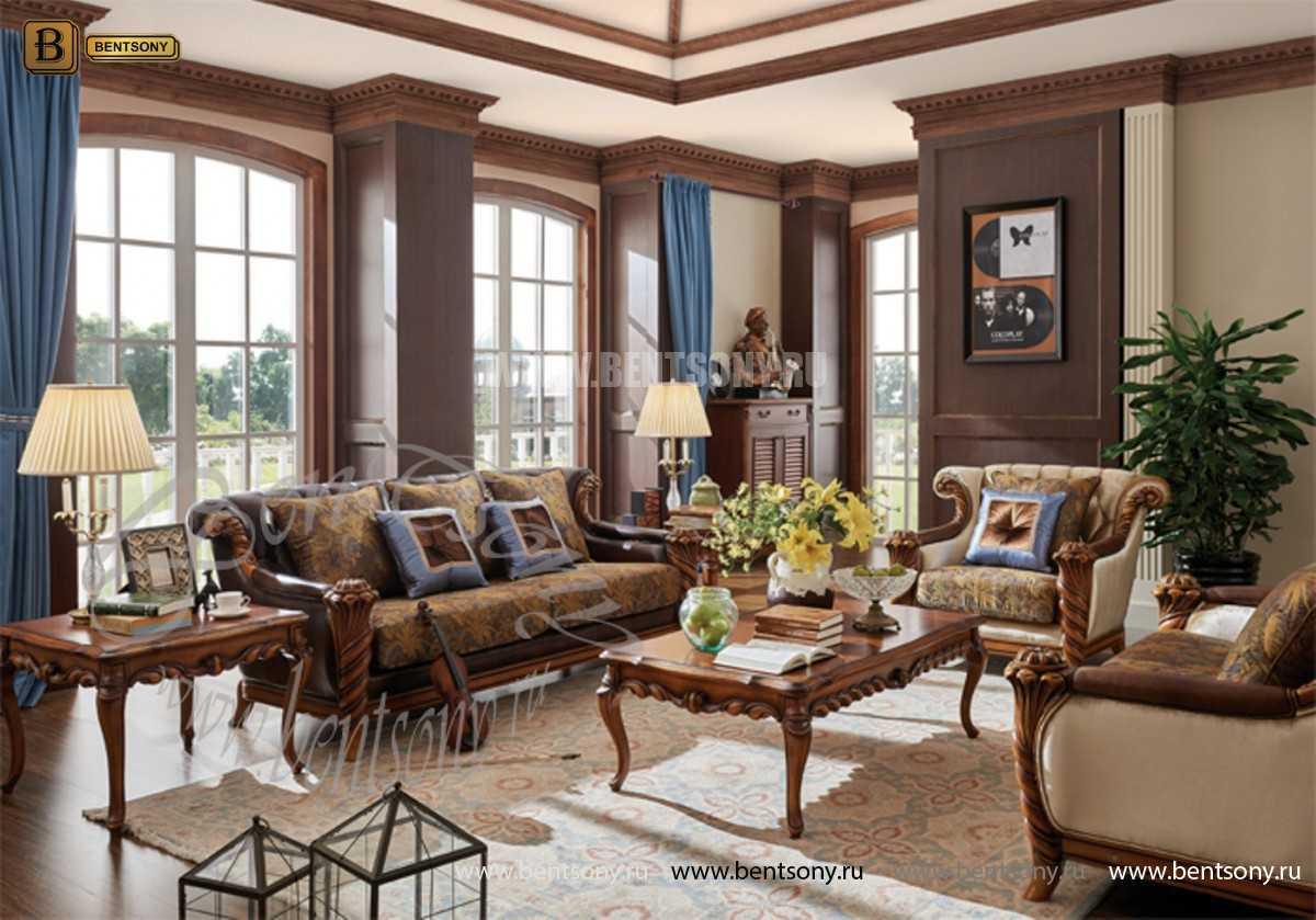 Стол журнальный Лоренс А маленький (Массив дерева) каталог мебели с ценами
