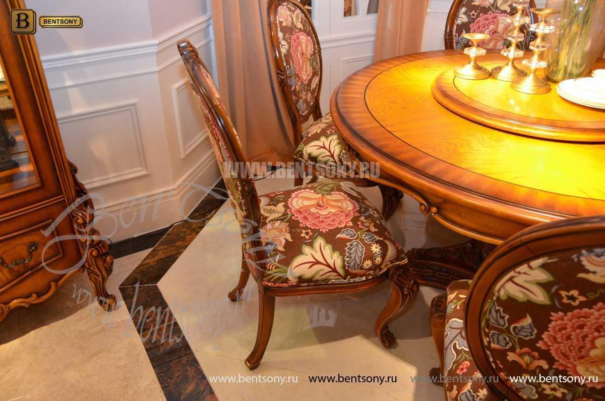 Обеденный стол Дакота А (Круглый, массив дерева) каталог с ценами